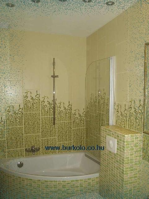Bambusz csempe, burkolat a fürdőszobában!
