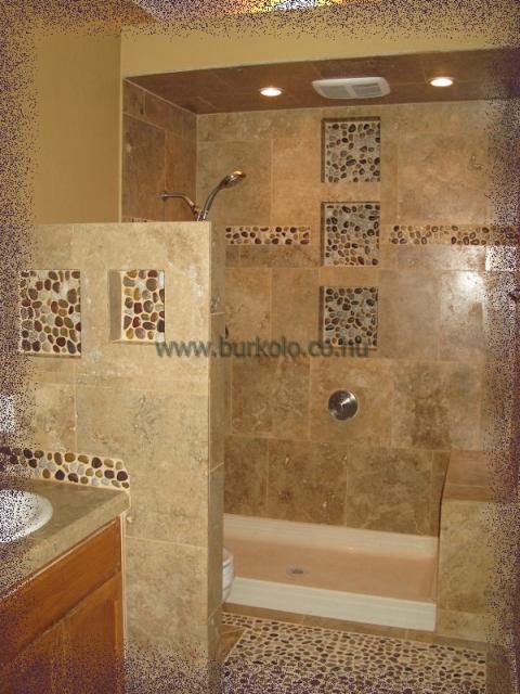 Zuhanyzó tálcára szerelt zuhanykabin üvegkeretezéssel