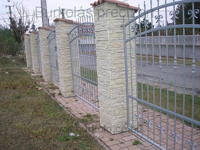 Kerítés burkolás burkoló kép 1