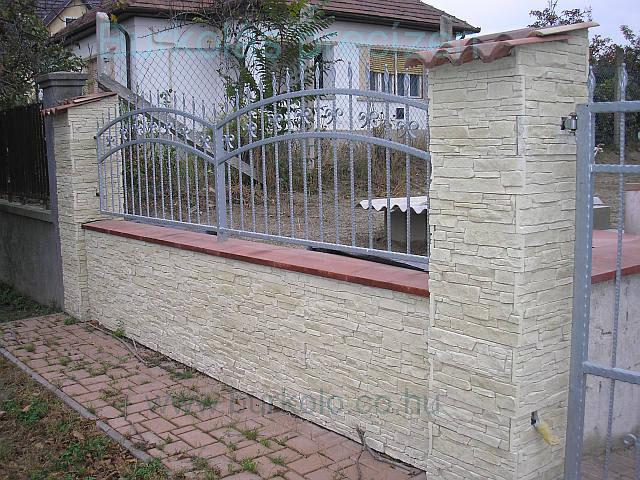 Kerítés burkolás burkoló kép 2