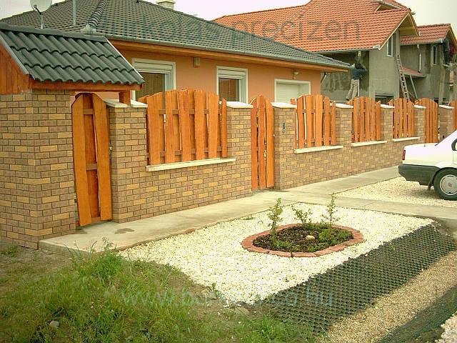 Kerítés burkolás burkoló kép 3