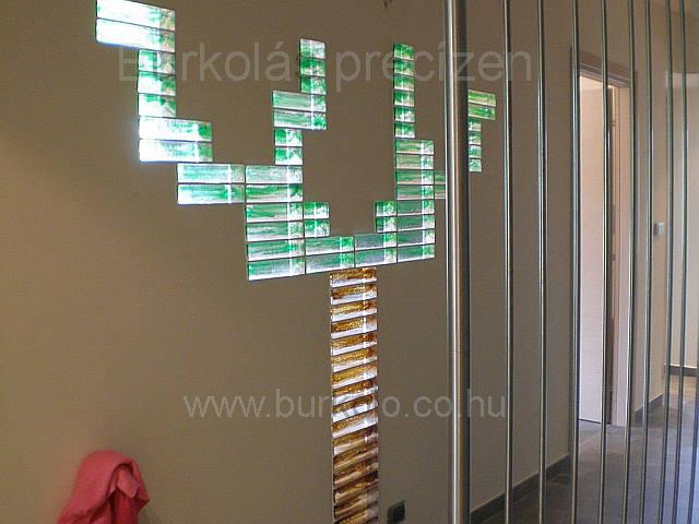 üvegtégla építés 4 kép