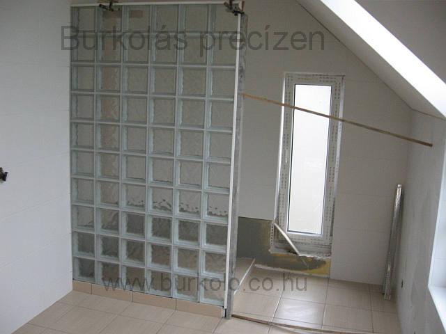 üvegtégla építés 5 kép