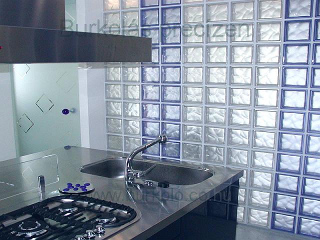 üvegtégla építés 8 kép