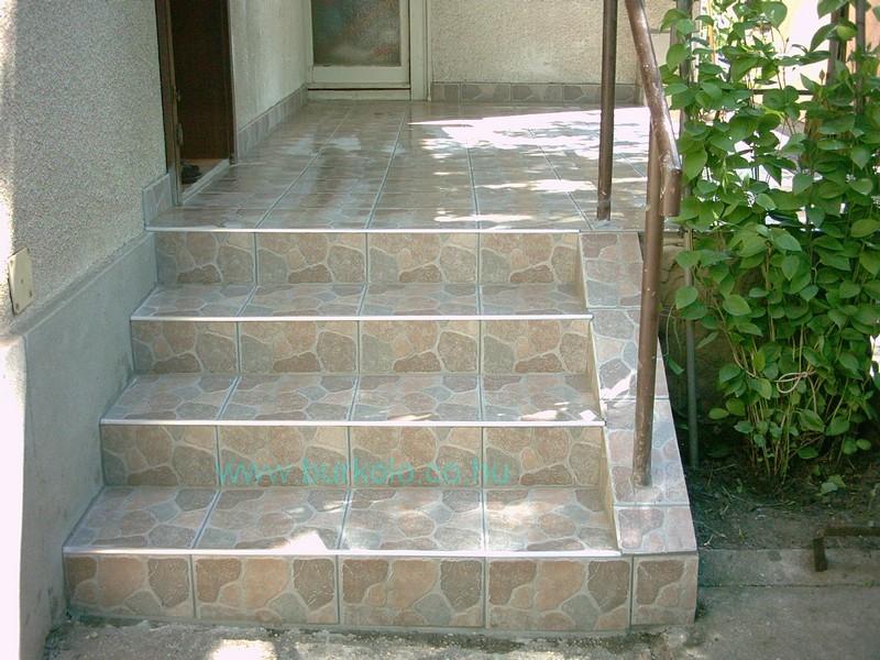 lépcső burkolás, burkoló 14-kép