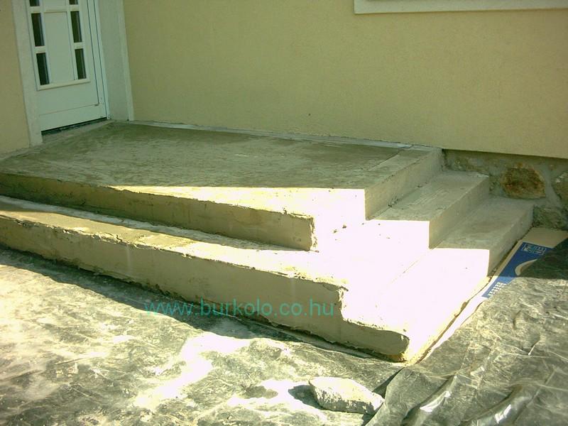 lépcső burkolás, burkoló 28-kép
