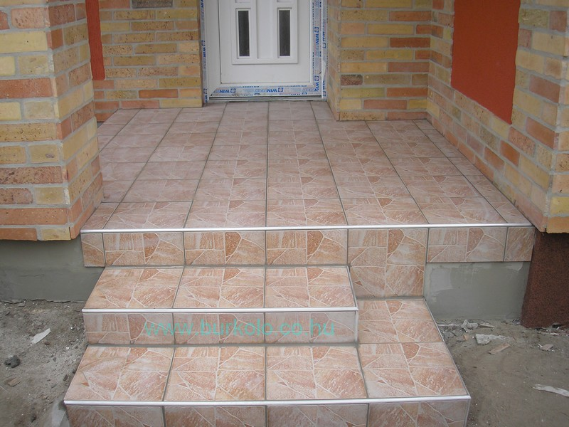 lépcső burkolás, burkoló 16-kép