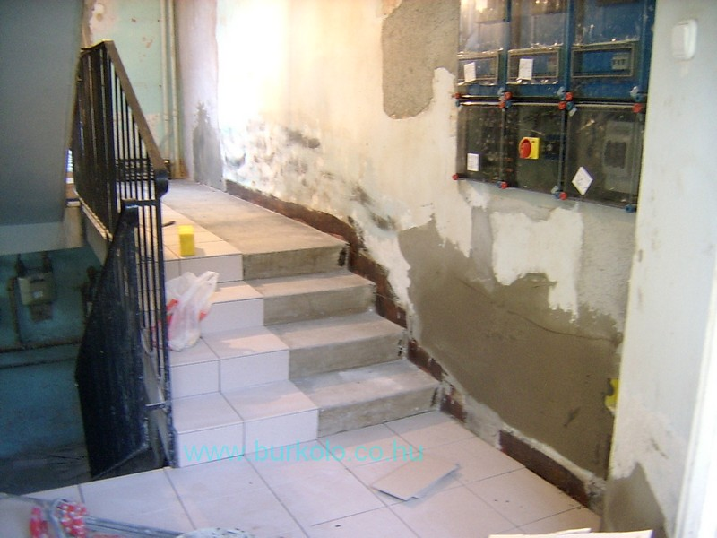 lépcső burkolás, burkoló 17-kép