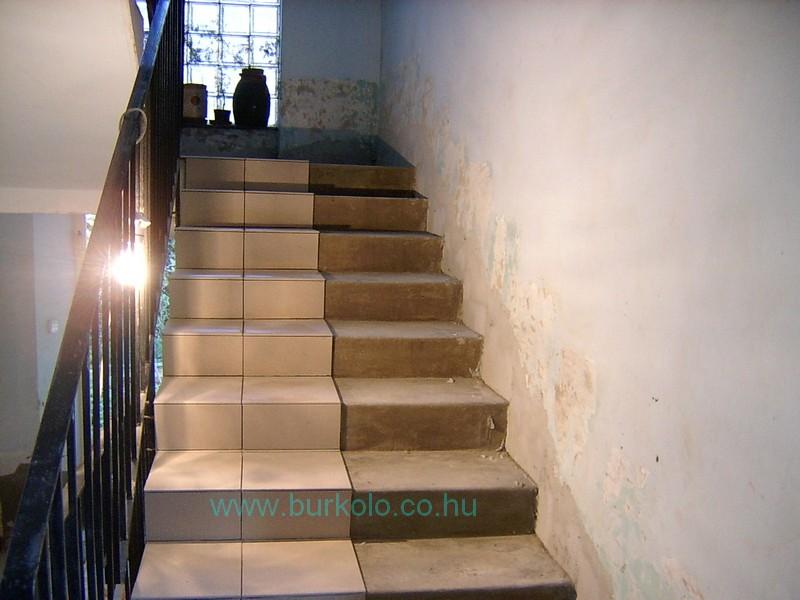 lépcső burkolás, burkoló 18-kép