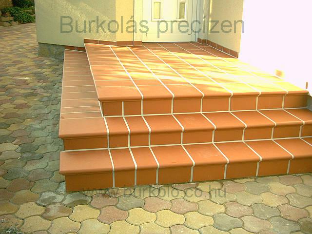 lépcső burkolás, burkoló 2-kép