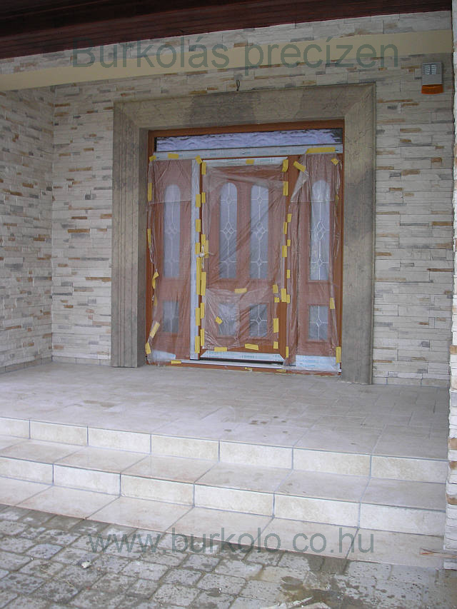 lépcső burkolás, burkoló 4-kép