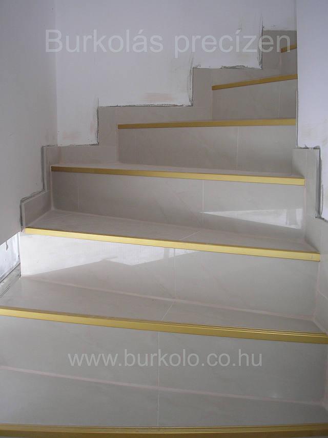 lépcső burkolás, burkoló 7-kép