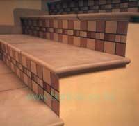lépcső burkolás, burkoló 33-kép
