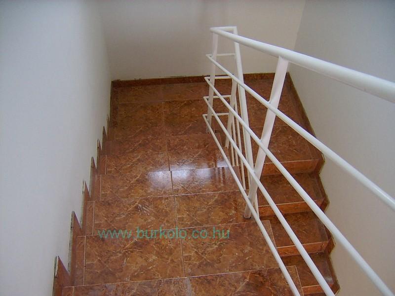 lépcső burkolás, burkoló 6-kép
