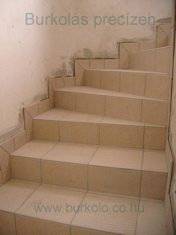 Lépcső burkolás, lépcső lapok