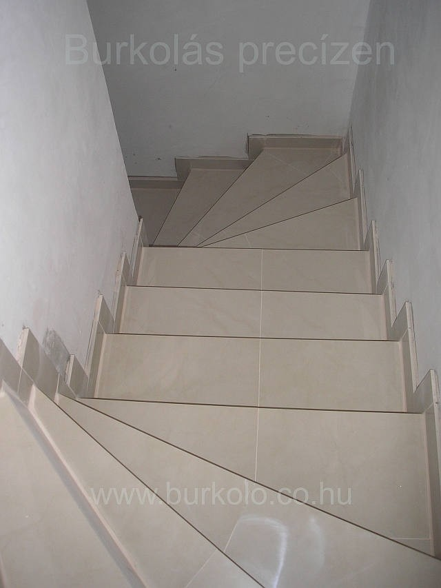 lépcső burkolás, burkoló 9-kép
